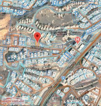 أرض سكنية للبيع في موقع مميز في دارسيت بجوار شيشة شل وم�